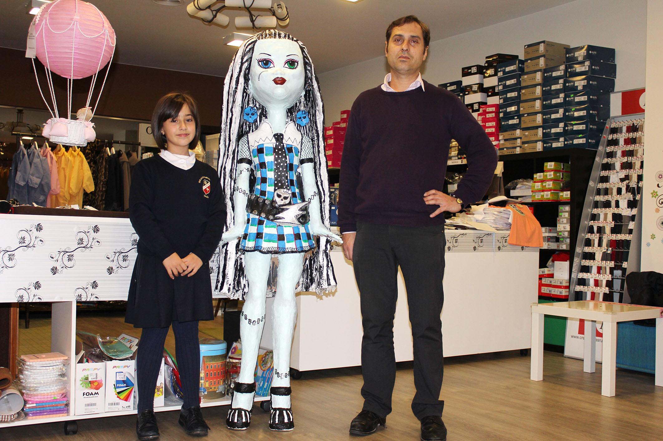 Foto en la tienda