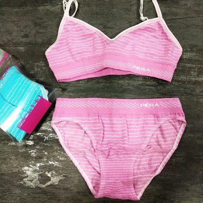 Conjunto top bikini pera junior