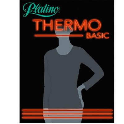 Camiseta Thermo Mujer Platino