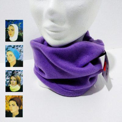 Braga cuello lila