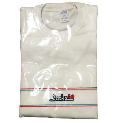 Camiseta blanca Basket