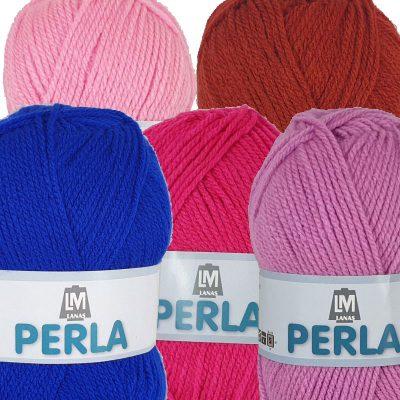 Ovillo lana Perla