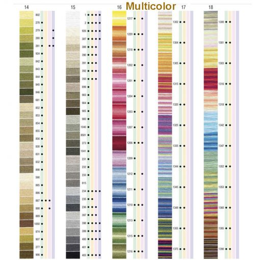 Hilo anchor multicolor