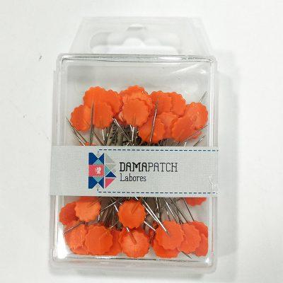 Caja alfileres flor