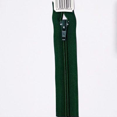 Cremallera separador verde