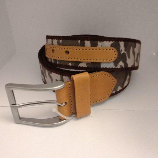 Cinturon elastico camuflaje
