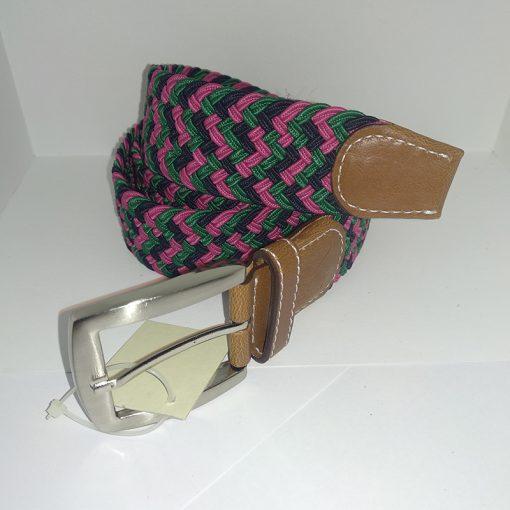 Cinturon elastico trenzada