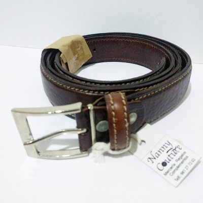 Cinturon liso piel