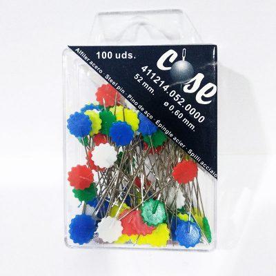 Alfiler color flor