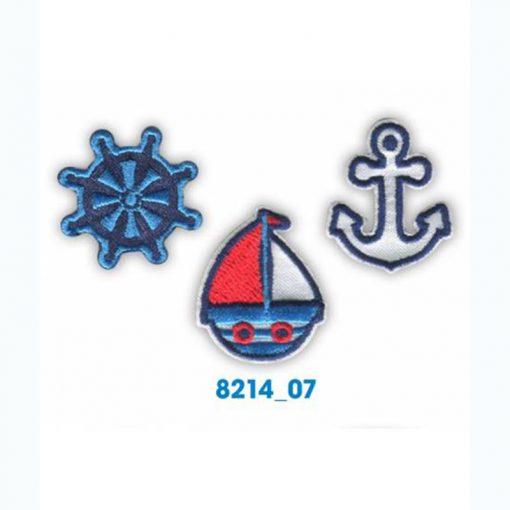 Mini bordados marinero
