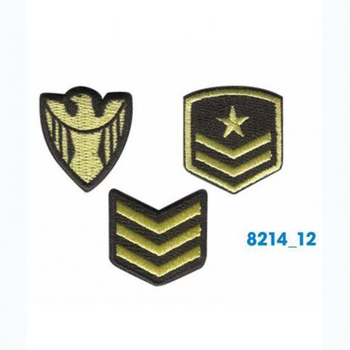 Mini bordados militar