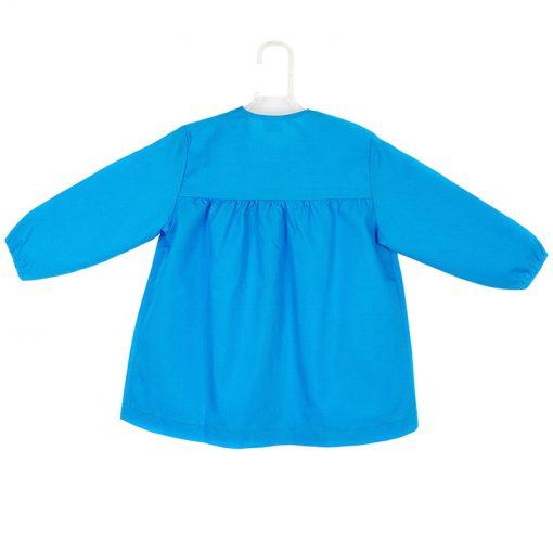 Bata azul turquesa