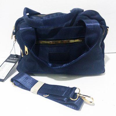 Bolso nylon azul marino